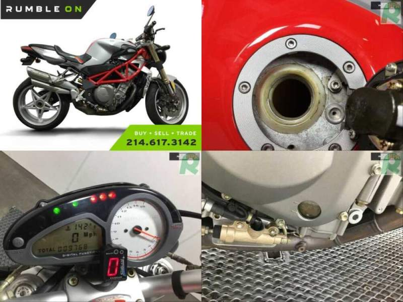2006 MV Agusta BRUTALE R CALL (877) 8-RUMBLE Red for sale