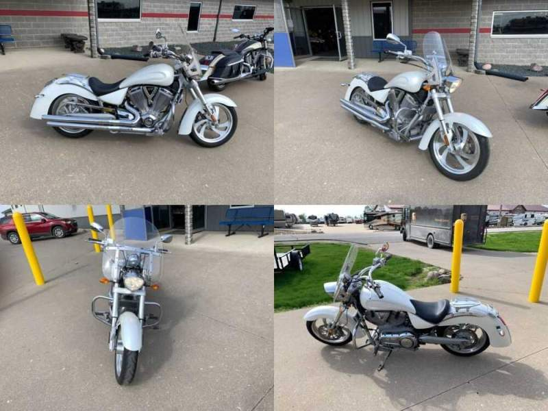 2006 Victory KINGPIN White for sale craigslist