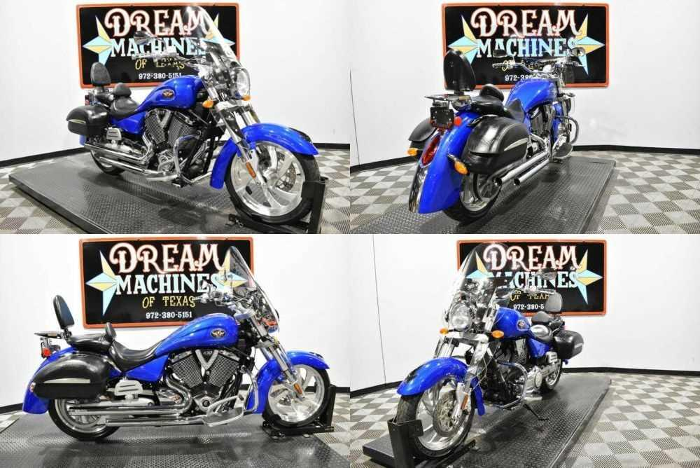 2006 Victory Kingpin Blue for sale