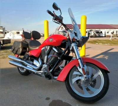 2006 Victory Kingpin Red for sale craigslist