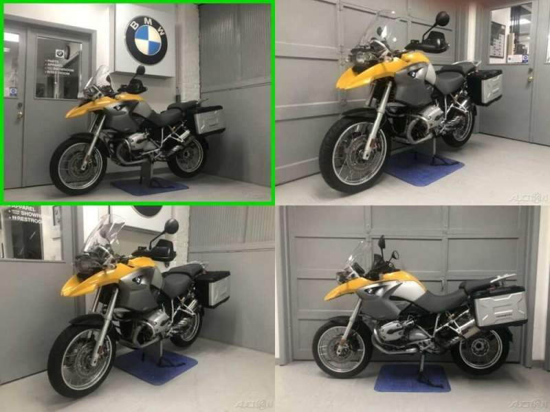 2007 BMW R-Series 1200 GS Yellow for sale craigslist