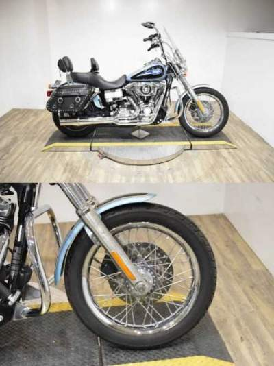 2007 Harley-Davidson Dyna® Low Rider® Two-tone Deep Cobalt Pearl / Pewter Pearl for sale craigslist