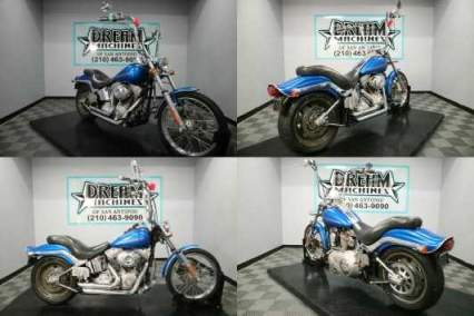 2007 Harley-Davidson FXST - Softail Standard Blue for sale craigslist