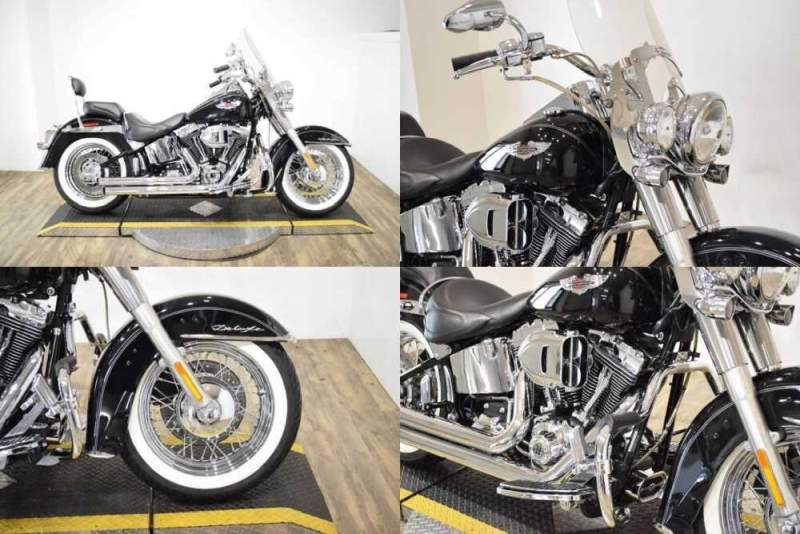 2007 Harley-Davidson Softail Deluxe Black for sale craigslist