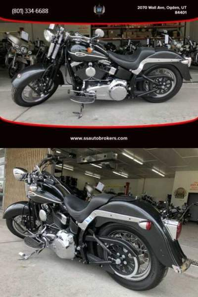 2007 Harley-Davidson Softail FLSTSC Springer Classic Gray for sale