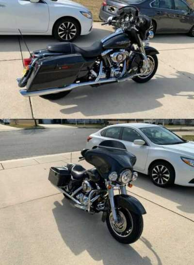 2007 Harley-Davidson Touring Gray for sale