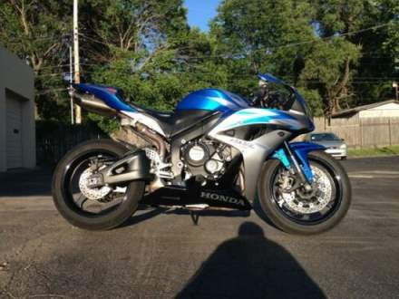2007 Honda CBR 600RR Blue for sale craigslist