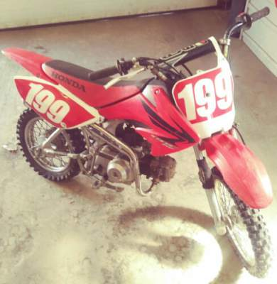 2007 Honda CRF Red for sale