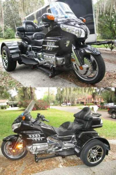 2007 Honda Gold Wing Charcoal Metallic for sale