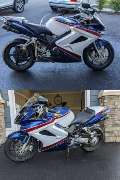2007 Honda Interceptor Red, White, Blue for sale craigslist