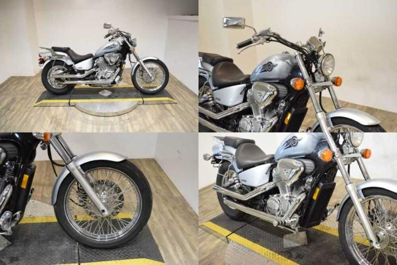 2007 Honda Shadow® VLX Deluxe Blue for sale