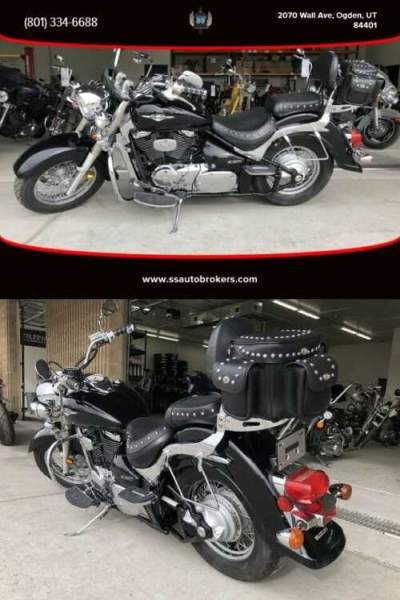 2007 Suzuki Boulevard C50T 5-speed transmission, Tokico braking system Black for sale craigslist
