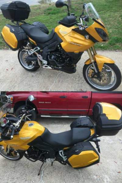 2007 Triumph Tiger Yellow for sale