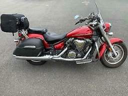 2007 Yamaha V Star Candy Apple Red for sale