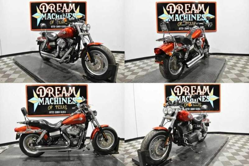 2008 Harley-Davidson FXDF - Dyna Fat Bob Red for sale craigslist