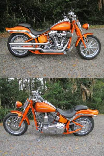2008 Harley-Davidson Softail Orange for sale