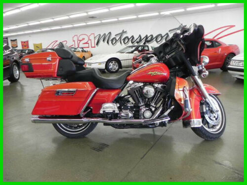 2008 Harley-Davidson Touring Copperhead Pearl/Red Hot13 Copperhead Pearl/Red Hot13 for sale