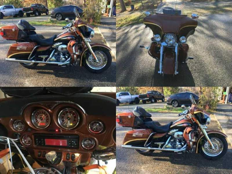 2008 Harley-Davidson Touring Crystal Copper / Onyx Black for sale