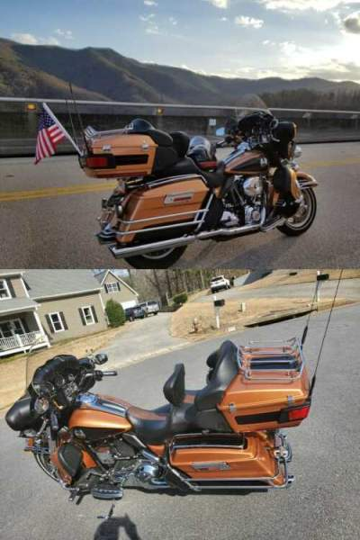 2008 Harley-Davidson Touring Gold for sale