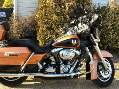 2008 Harley-Davidson Touring copper and black for sale craigslist