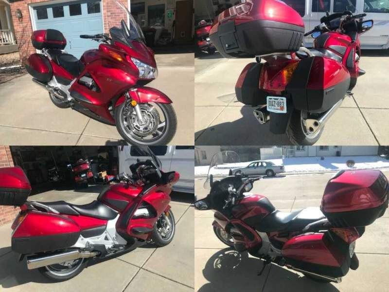 2008 Honda 2008 ST 1300 Pan America Red for sale