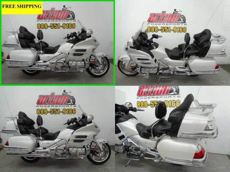 2008 Honda Gold Wing Audio / Comfort / Navi / ABS Pearl White for sale craigslist