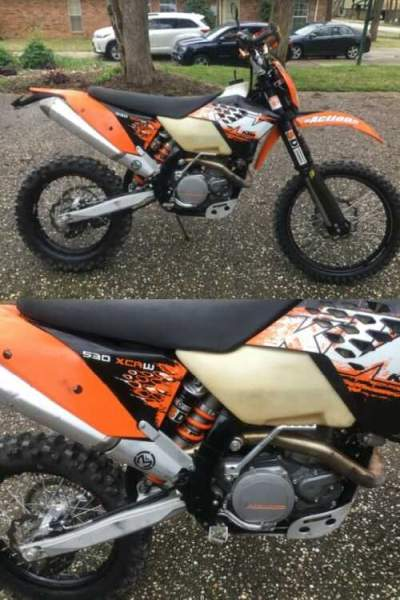 2008 KTM 530 XCW R Orange for sale craigslist