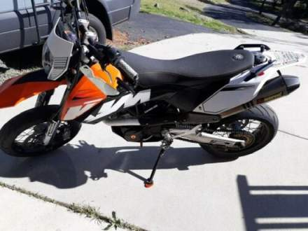 2008 KTM SMC Orange/white for sale craigslist