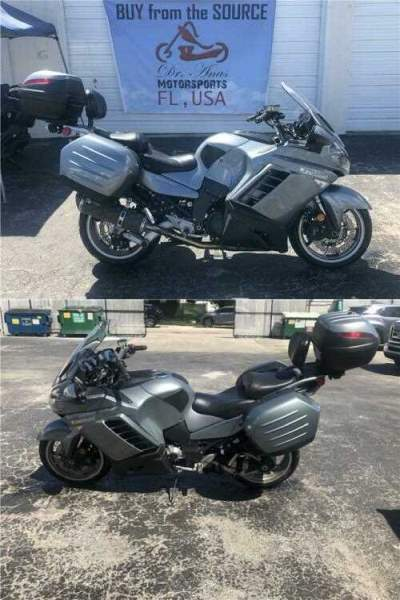 2008 Kawasaki Concours 14 ABS Silver for sale craigslist