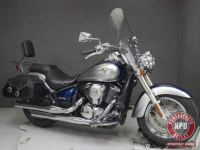 2008 Kawasaki Vulcan METALLIC OCEAN BLUE/METALLIC PHANTOM SILVER for sale