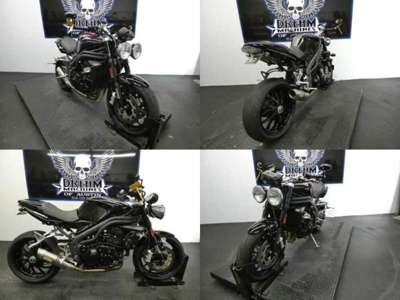 2008 Triumph Speed Triple Black for sale