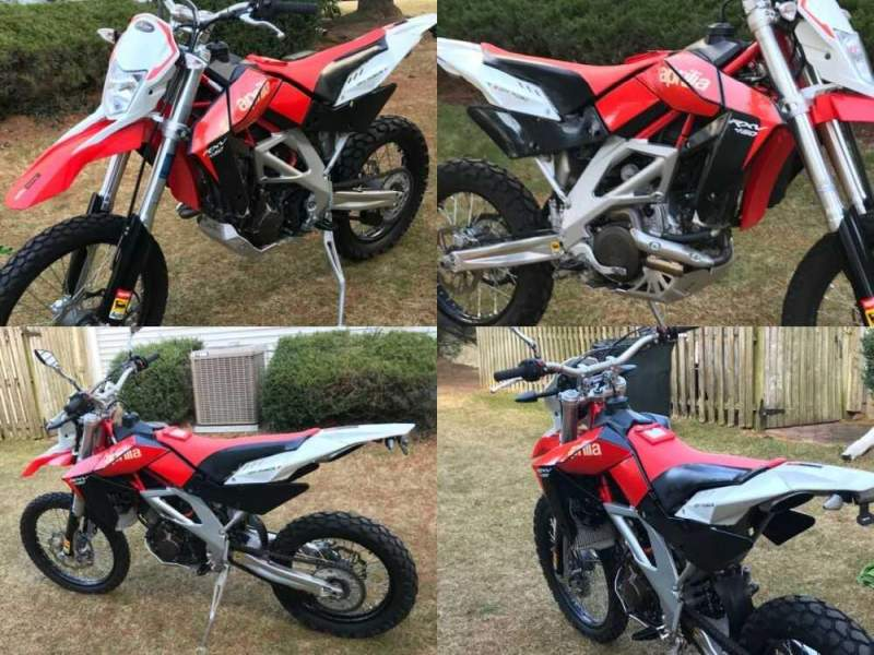 2009 Aprilia rxv450 Red for sale