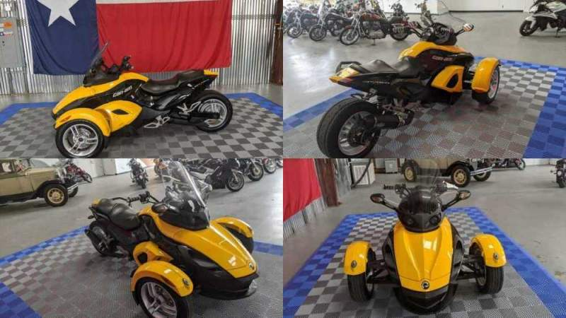 2009 Can-Am Spyder GS SE5 Yellow for sale craigslist