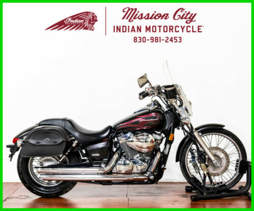 2009 Honda Shadow Spirit 750 Black with Red Flames for sale