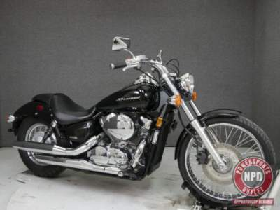 2009 Honda Shadow VT750 750 SPIRIT Black for sale