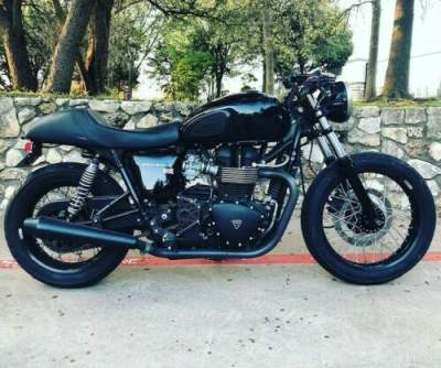 2009 Triumph Bonneville Black for sale