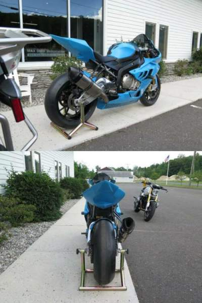 2010 BMW S1000RR Blue for sale