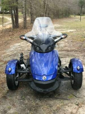 2010 Can-Am SPYDER RS SE5 TRIKE Blue for sale