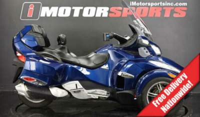 2010 Can-Am Spyder Roadster RT-S Blue for sale craigslist