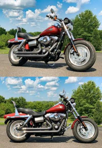 2010 Harley-Davidson Dyna Scarlet Red for sale craigslist