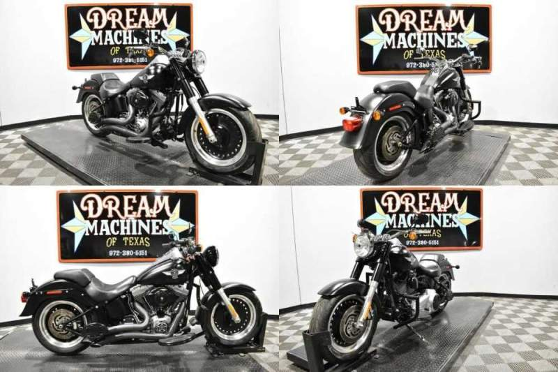 2010 Harley-Davidson FLSTFB - Softail Fat Boy Lo Black for sale craigslist