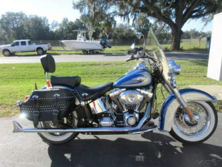 2010 Harley-Davidson Softail Heritage Softail® Classic Blue (Dark) for sale craigslist