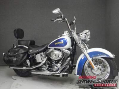 2010 Harley-Davidson Softail FLSTC HERITAGE CLASSIC WHITE ICE PEARL/BLACK ICE PEARL for sale