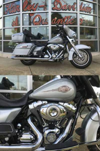 2010 Harley-Davidson Touring Electra Glide Classic Brilliant Silver Pearl for sale craigslist
