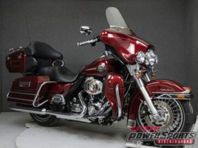 2010 Harley-Davidson Touring RED HOT SUNGLO for sale