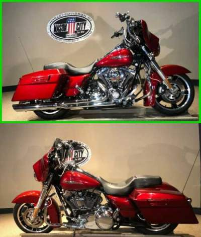2010 Harley-Davidson Touring Street Glide™ Red Hot Sunglo for sale craigslist