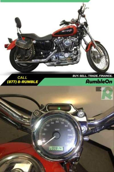 2010 Harley-Davidson XL1200C CALL (877) 8-RUMBLE Red for sale craigslist