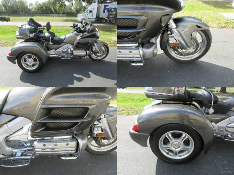 2010 Honda Gold Wing Audio / Comfort / Navi / XM / ABS Gray for sale craigslist