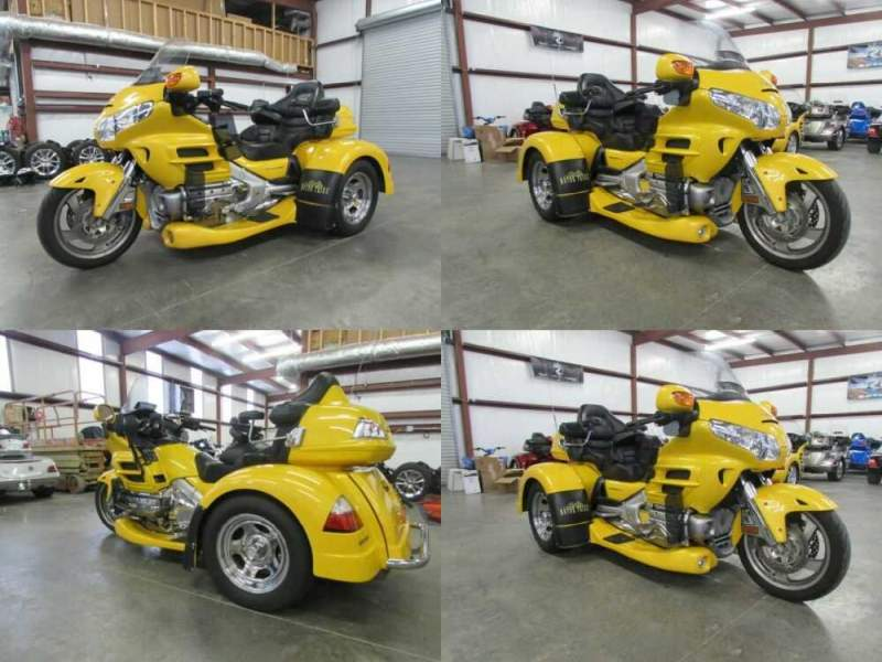 2010 Honda Gold Wing YELLOW for sale craigslist