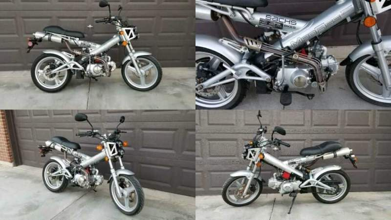 2010 Other Makes SACHS MADASS Silver for sale craigslist